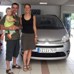 Manuela Balten & Robby Stolze aus Großhartau, C4 Grand Picasso - Vorführwagen