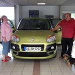 Günter & Helga Friebe aus Dresden, Citroen C3 Picasso - Vorführwagen