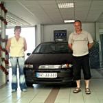 Familie Kühne aus Frankental, Gebrauchtwagen mit Klimaanlageeinbau vom Autohaus Franke