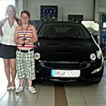 Frau Fanny Schelle aus Dresden, Gebrauchtwagen